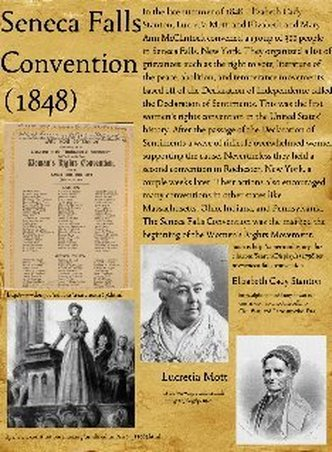 declaration of sentiments and resolutions thesis During the antebellum era, women were suffering under the shadow of injustice and inequality but as the declaration of sentiments was presented during the seneca.