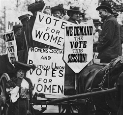 the fight for women s suffrage 1848 1920 We're inclined to assume that the passage of women's suffrage (even the proposals for giving women the vote had been around since the first convention for women's rights in seneca falls, ny, in 1848 a forgotten fight for suffrage today's paper | subscribe continue.